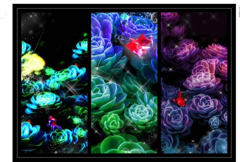 D水夢の花